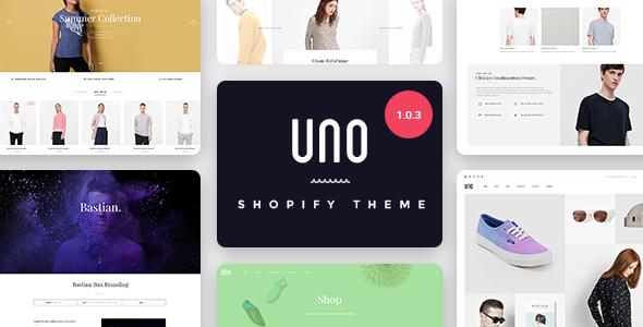 UNO - Multi Store Responsive Shopify Theme