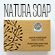 Natura Soap Packaging - GraphicRiver Item for Sale