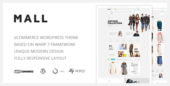 Mall — Clean Multi-Purpose WooCommerce Responsive WordPress Theme