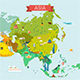 Map of Asia - GraphicRiver Item for Sale