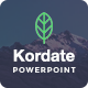 Kordate - Modern and Professional Powerpoint Template - GraphicRiver Item for Sale
