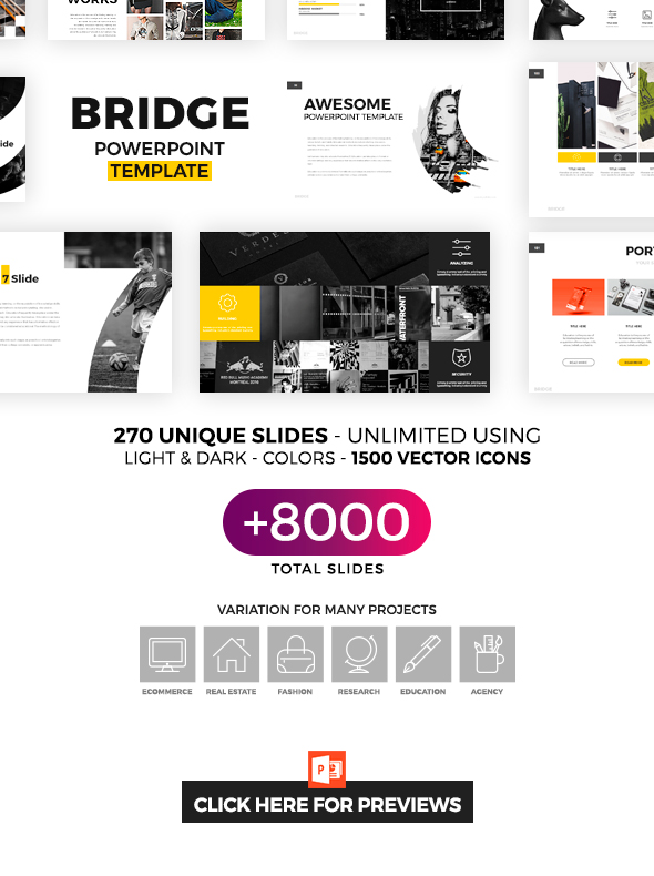 Bridge Powerpoint Template