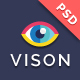 Vision Digital Agency – Multipurpose One Page PSD Template - ThemeForest Item for Sale