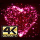 Pink Animated Particle 4K Heart - VideoHive Item for Sale