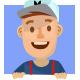 Deliveryman Cartoon Mascot - GraphicRiver Item for Sale