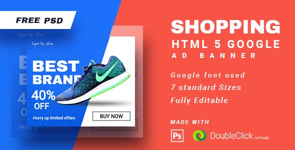 Świeże HTML5 Ad Templates from CodeCanyon PB03