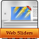 Premium Web Sliders with web element - GraphicRiver Item for Sale