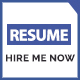 Hired - Professional Resume Template - ThemeForest Item for Sale