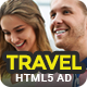 Travel | HTML5 Animated Google Banner 02 - CodeCanyon Item for Sale