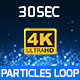4K Particle Background - VideoHive Item for Sale