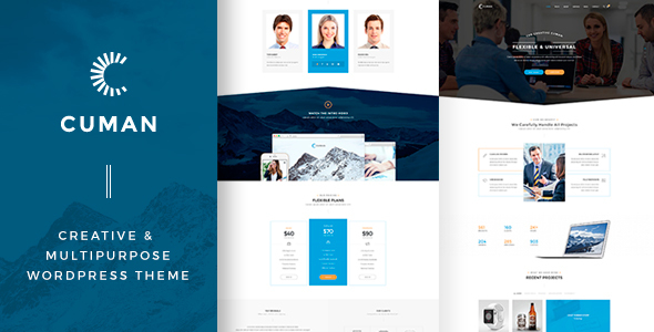 Cuman - Business Corporate theme