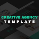 Creative Agency Bootstrap HTML5 Template - ThemeForest Item for Sale