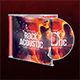 Rock Acoustic CD Cover Artwork - GraphicRiver Item for Sale