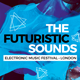 Futuristic Sounds Festival and Event Flyer / Poster - GraphicRiver Item for Sale