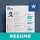 Clean Resume Vol. 6 - GraphicRiver Item for Sale