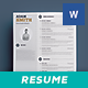 Clean Resume Vol. 4 - GraphicRiver Item for Sale