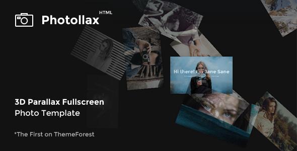 Photollax – Creative Photography Template