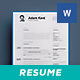 Clean 2 Pages Resume Vol. 9 - GraphicRiver Item for Sale