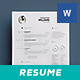 Clean Resume Vol. 2 - GraphicRiver Item for Sale