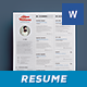 Simple Resume Vol. 3 - GraphicRiver Item for Sale