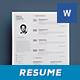 Simple Resume/Cv Volume 6 - GraphicRiver Item for Sale