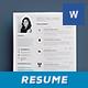 Simple Resume/Cv Volume 7 - GraphicRiver Item for Sale