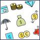 Money Finance Icons Set - GraphicRiver Item for Sale