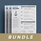 Clean Resume Bundle - GraphicRiver Item for Sale