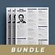 Simple Resume Bundle - GraphicRiver Item for Sale