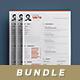 Clean Resume/Cv Bundle Vol.3 - GraphicRiver Item for Sale