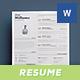 Typographic Resume Vol. 1 - GraphicRiver Item for Sale