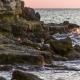 Waves Gently Splashing Against Rocks - VideoHive Item for Sale