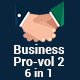 Business Pro - vol 2- 6 in 1 PowerPoint Template Bundle - GraphicRiver Item for Sale