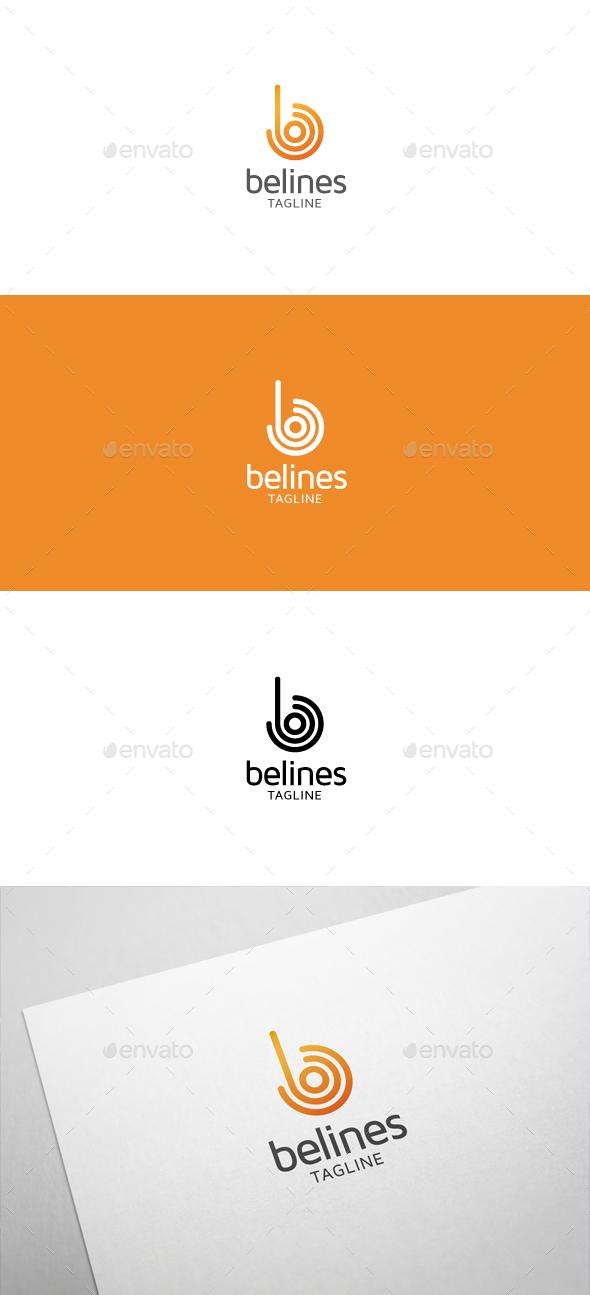 Belines B Letter Logo