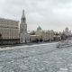 Sofia Embankment in Moscow in the Winter - VideoHive Item for Sale