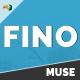 FINO - Creative Multi-Purpose Muse Template - ThemeForest Item for Sale