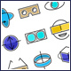 Virtual Reality VR Goggles Icons Set - GraphicRiver Item for Sale