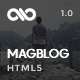 MagBlog - News Editorial & Magazine HTML5 Template - ThemeForest Item for Sale