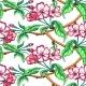 Apple Flower Sketch Pattern - GraphicRiver Item for Sale