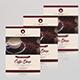 Minimal Coffee Shop Flyer-V138 - GraphicRiver Item for Sale