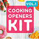 Cooking Intros / Openers - vol 1 - VideoHive Item for Sale
