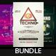 Techno - Flyers Bundle [Vol.02] - GraphicRiver Item for Sale