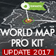 World Map Pro Kit - VideoHive Item for Sale