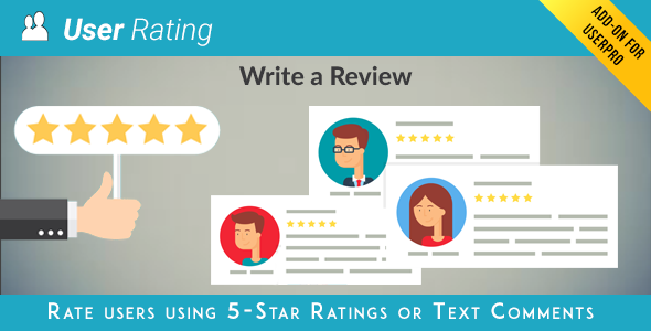 User Rating / Review Add on for UserPro Download