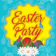 Easter Party Flyer Template 156 - GraphicRiver Item for Sale