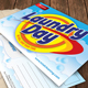 Laundry and Cleaning Day Service Post Card 41 - GraphicRiver Item for Sale