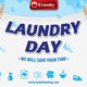 Laundry Service Post Card 42 - GraphicRiver Item for Sale