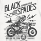 Black Spades Custom Motorcycles Builders T-Shirt - GraphicRiver Item for Sale