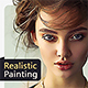 Realistic Painting Photoshop Effect - GraphicRiver Item for Sale