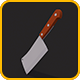 Low Poly Cleaver - 3DOcean Item for Sale